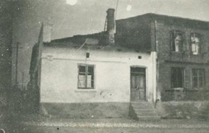 Berkenstat bakery and home in Nowa Brzeźnica